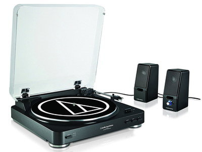 Top Of The Line Turntable With Transparent Lid