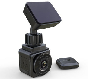 GPS In Car Accident Cam With Black Fixture