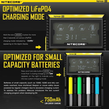 Charger For Ni-MH Batteries With Status Screen