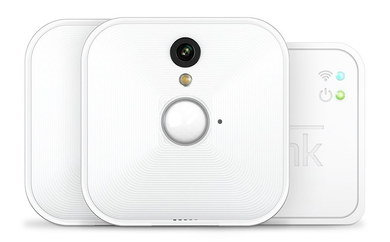 House Wireless Video Security In All White Case