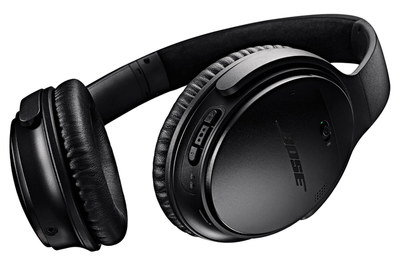 Comfy Wireless NC Headphones In All Black