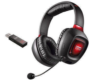 SBX Wireless PS4 Headset With Small Black Mic