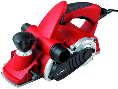 Electric Benchtop Planer In Red And Black