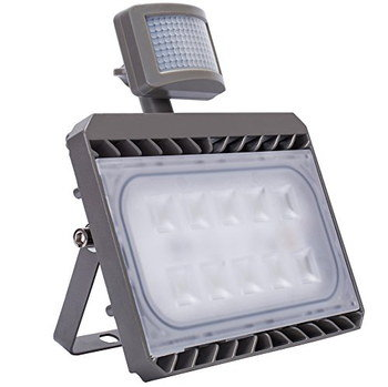 50W LED PIR Outdoor Light With Bracket