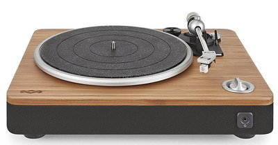 USB PC Turntable In Brown And Black