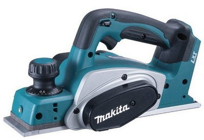 Cordless Battery Planer In Dark Blue