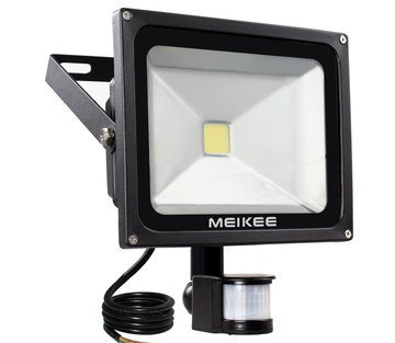 Security Light PIR With White Sensor Device