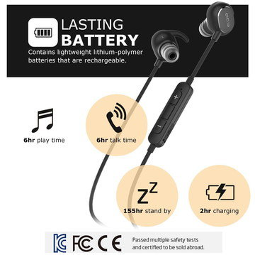 In Ear Headphones With Inline Buttons