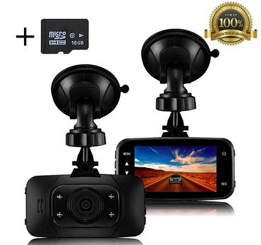 In Car Camera System With Black SD Card