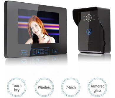 Video Door Access System With Touch Key