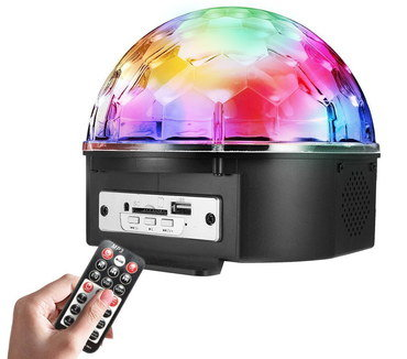 Spinning Disco Light With Hand Remote