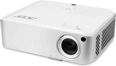 Dual HDMI 3D Connect 1080P 3D Projector In All White Colour