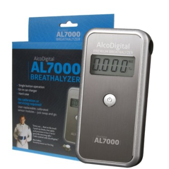 AlcoDigital AL 7000 Breathalyser In Grey Finish