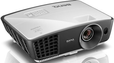 HDMI 2500 Lumens DLP 3D Projector In Grey And White