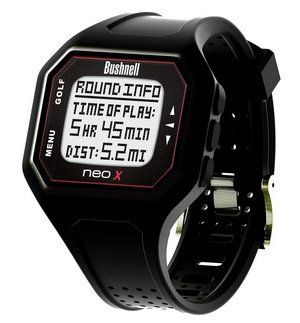 GPS Watch In Black With Square Display