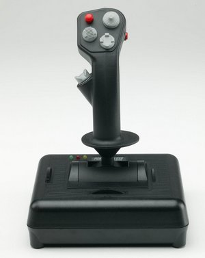 Axis For Throttle Stick In Black With 4 Buttons