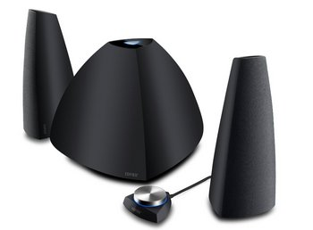 RMS Bluetooth Speakers In All Black Finish