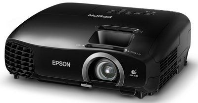 2000 Lumens HD 3D Home Projector In All Black