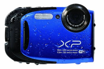 Fujifilm Wi-Fi Connect CMOS Camera In Blue And Black