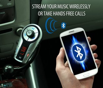 GOgroove FlexSMART X2 In-Car Bundle Inside Vehicle Photo