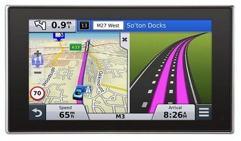 Garmin Nuvi Bluetooth 5 Inch SatNav Speed And Arrival View
