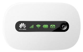Huawei E5220 Networks 3G Mobile In Black And White Finish