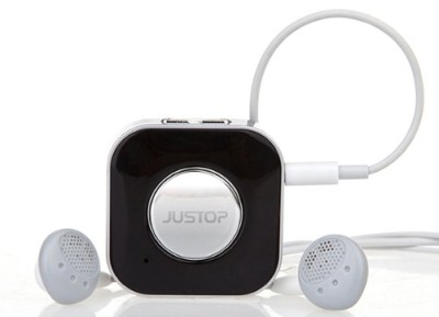 JUSTOP BTR008 Stream Bluetooth NFC Car Receiver With White Wiring