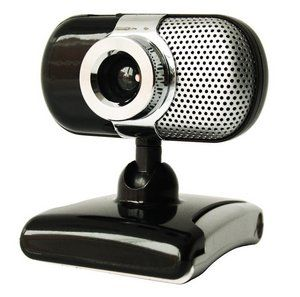 USB Webcam in Black And Chrome