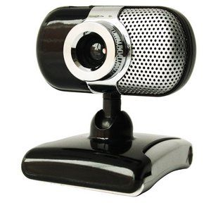 Kinobo B7 Webcam in Black and Chrome