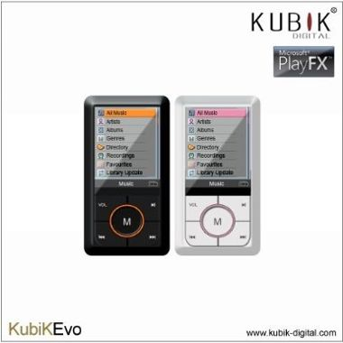 Mp3 Player In Black And White