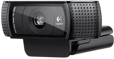 Logitech C920 Smooth Video Calling Webcam In Black