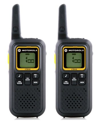 Walkie Talkies In Black And Yellow