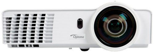 Short Throw Lens HD DLP Projector In All White