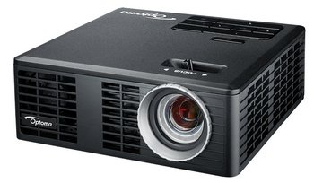 3D Ready LED Projector In All Black Finish