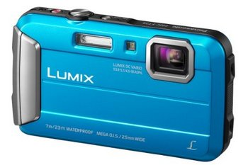 Camera In Blue Finish
