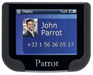 Parrot MKi9200 Bluetooth Car Kit In Blue And Grey Exterior