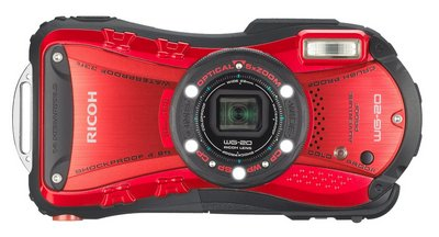 LED Camera In Black And Red Exterior
