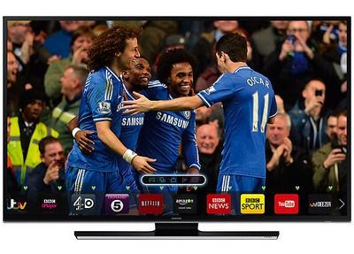 55 Inch Samsung HD Catch-Up Smart TV With Slim Black Frame
