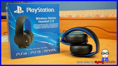PlayStation Wi-Fi System Headset With Blue Box