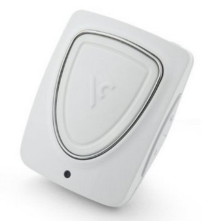 VOICE Caddy Portable GPS 1-Touch Range Finder In All White Finish
