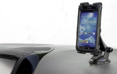 Rotating Car Dash Tablet Holder Fixed On Dash