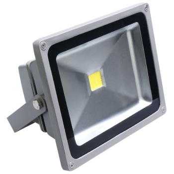 LED Outdoor Garden Lighting In Light Grey Exterior