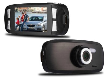 HD In Car Camera Recorder Showing 2 Sides
