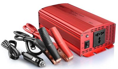 1000W Power Inverter For Cars In Bright Red