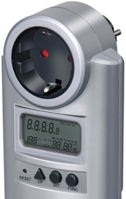 Home Energy Meter In Grey/White Finish