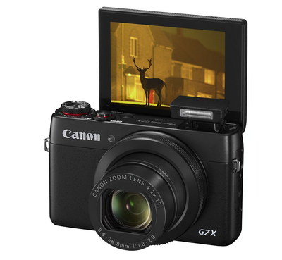 Canon PowerShot G7X Pocket-Size Vlog Camera With Touch Screen