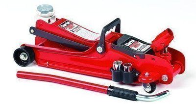 2.2 Ton Low Profile Car Jack In Bright Red