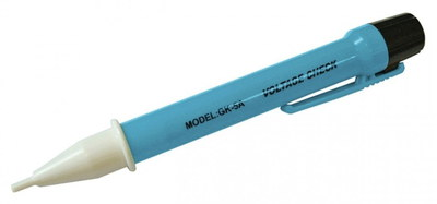 Faithfull DetVolt Small Voltage Tester Pen In Light Blue