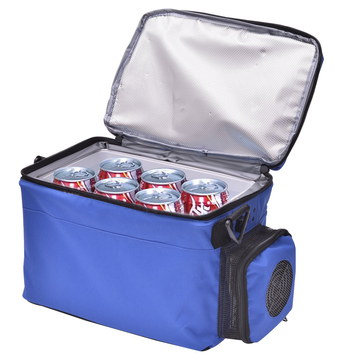Homcom Compact 5 Litres Light Car Cooler 12V In Blue