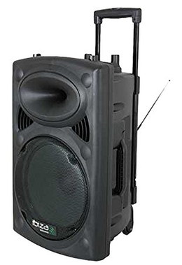 Wireless Portable PA System With Top Handle